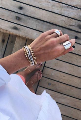 Как сочетать золотые и серебряные украшения: советы стилиста аксессуары,мода и красота,модные советы,украшения