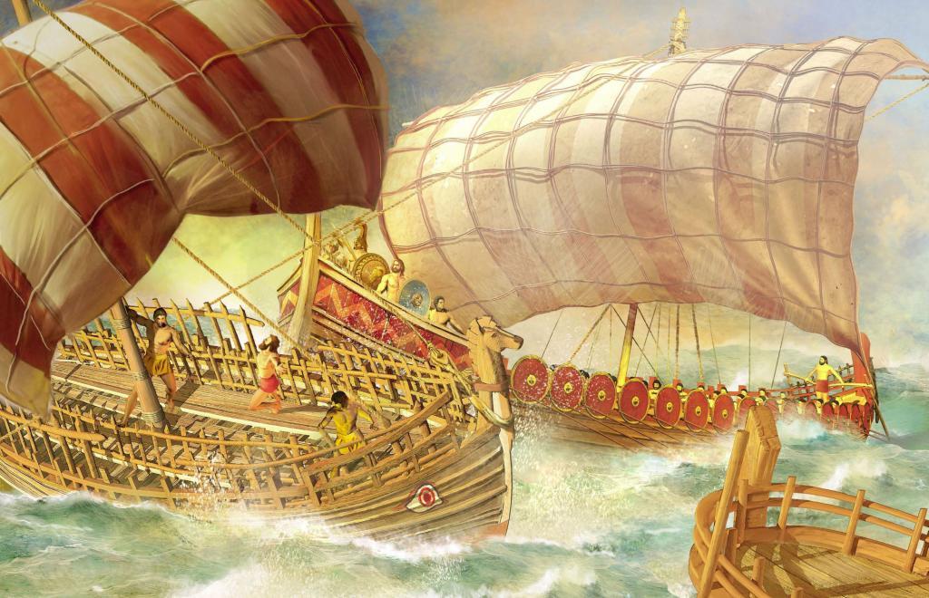 институт как называется корабль у древних греков фото такого камина является