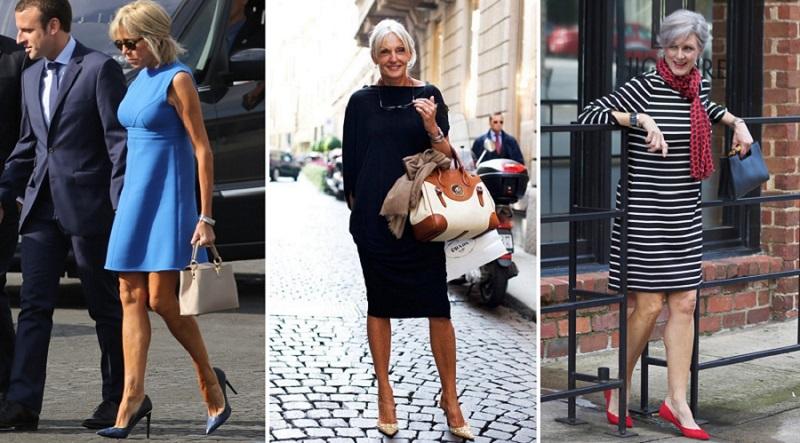 нарядная одежда для женщин за 50