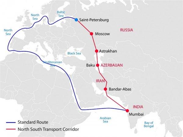 Международный транспортный коридор «Север-Юг» в приоритете Азербайджана, но не в интересах США