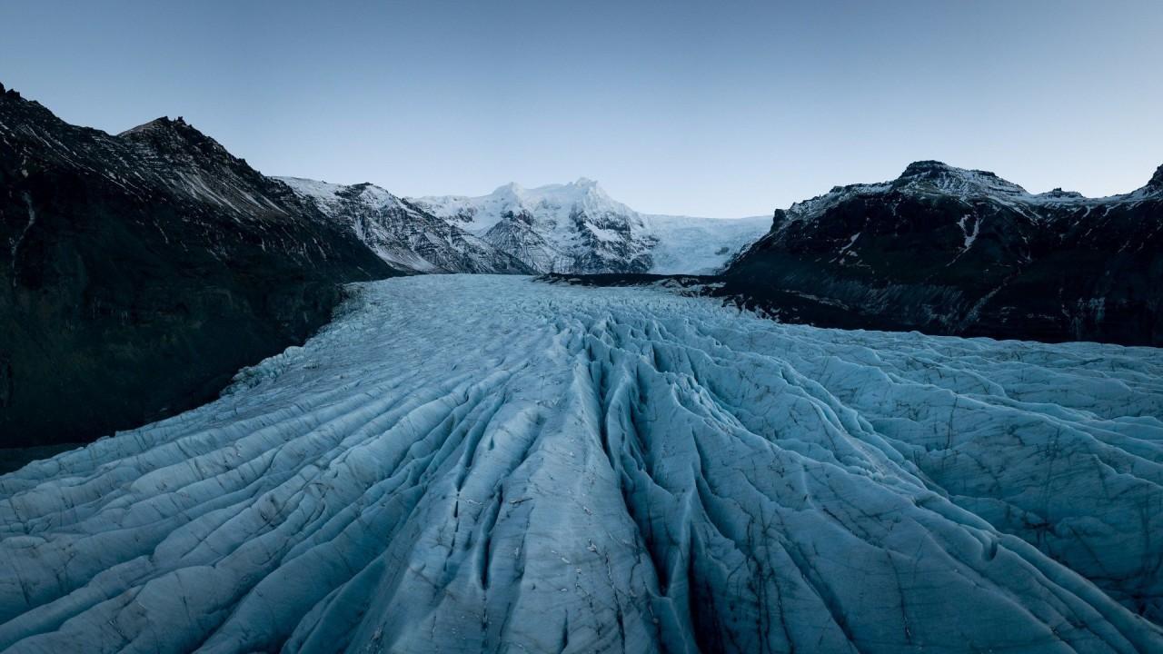Ледник Свинафеллсйокюдль, Исландия. Фотограф - Сирил Ханни красивые места, красота, ледник, ледники, природа, путешественникам на заметку, туристу на заметку, фото природы