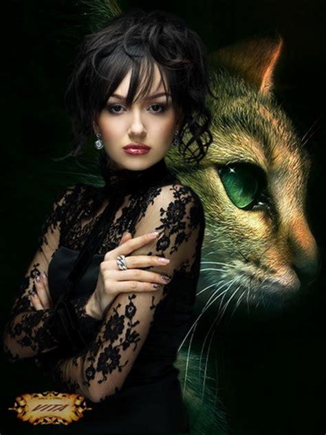 КОШКИН ДОМ. Женщина и кошка