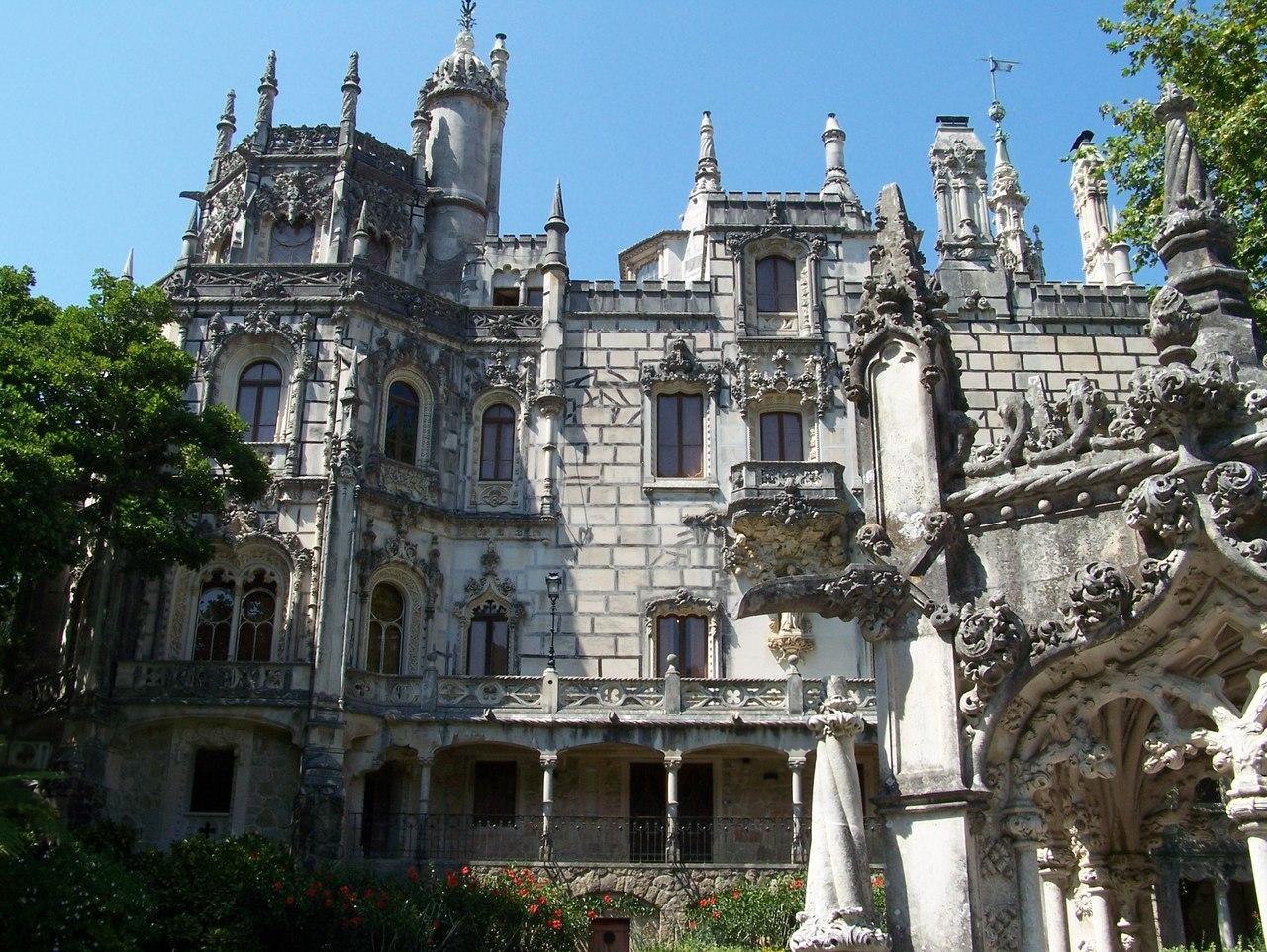 Сказочный дворец Кинта да Регалейра, Португалия