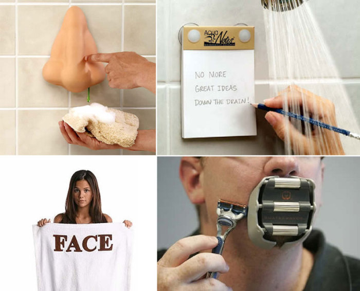 10 забавных и полезных аксессуаров для ванной комнаты