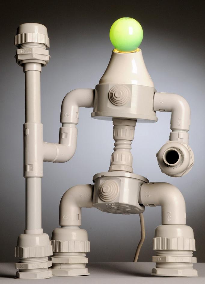 поделки из труб канализационных своими руками фото