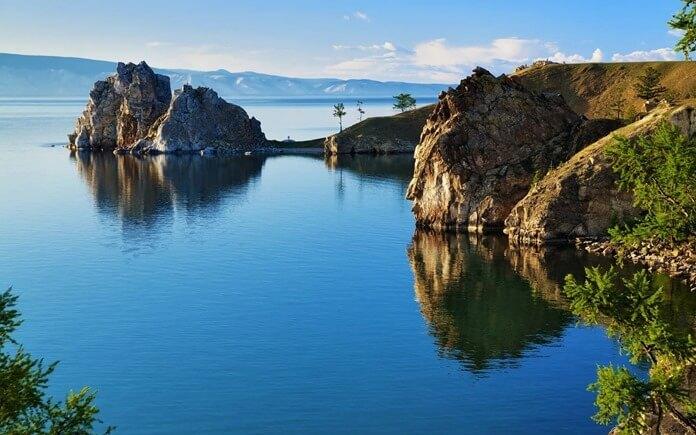Прекрасное озеро Байкал