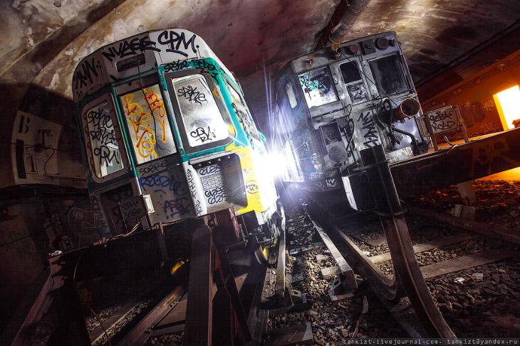 Париж подземный