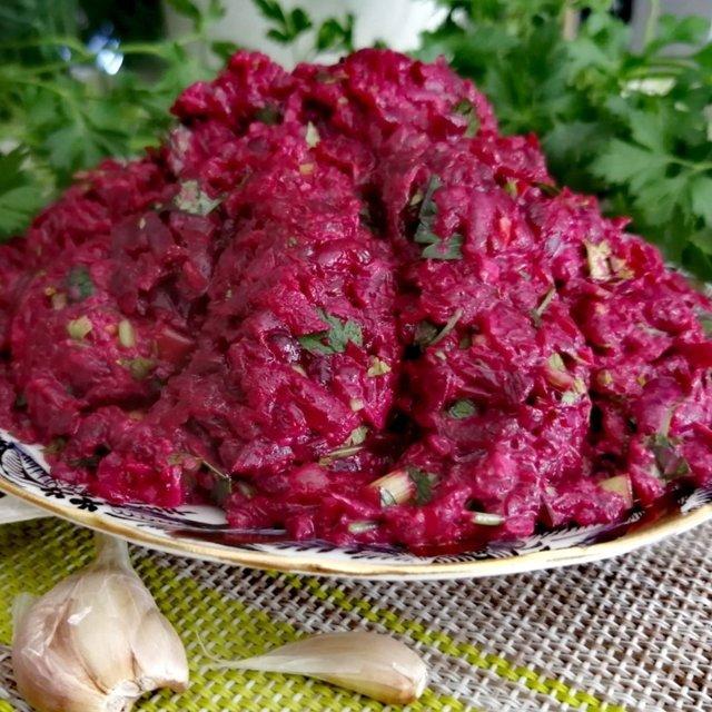 Салат из свёклы салаты