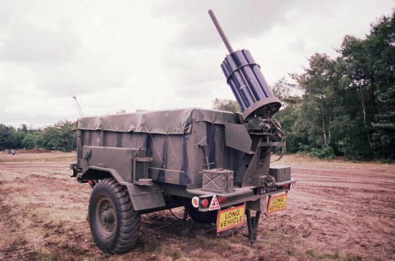 Реактивная установка разминирования Giant Viper (Великобритания)