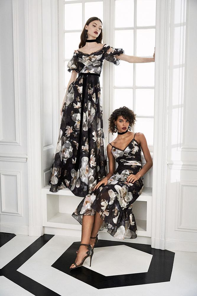 Маркиза драмы: модная коллекция Marchesa Notte осень 2019, фото № 10