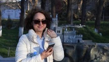 Наблюдатель из Украины приехала на выборы в Крым