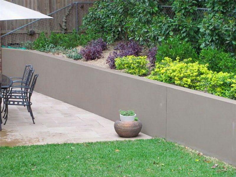 бетонные подпорные стенки