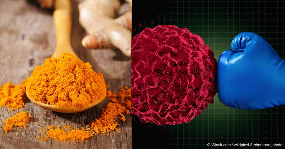 Куркума может остановить рост раковых клеток. Исследование