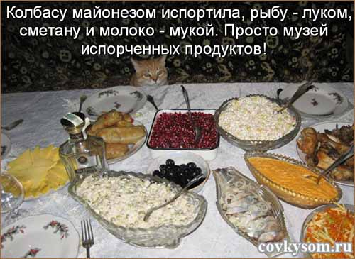 Кулинарные котоматрицы 37 (юмор)