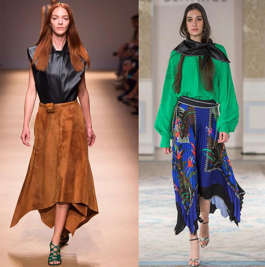 Модные длинные юбки 2019 лучшее