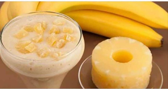 Ананас и банан: устраните свой брюшной жир с помощью этого мощного удара!
