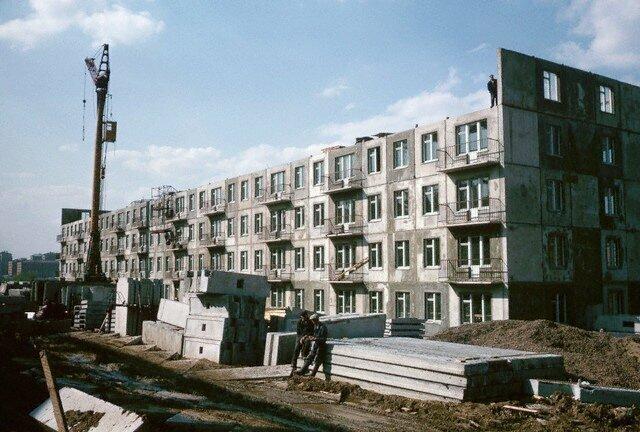 Новостройки Москвы, 1964 СССР, история, фото
