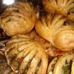 Волшебная картошечка с грибами и зеленью! Приготовила вчера! Вкуснотища! Очень рекомендую