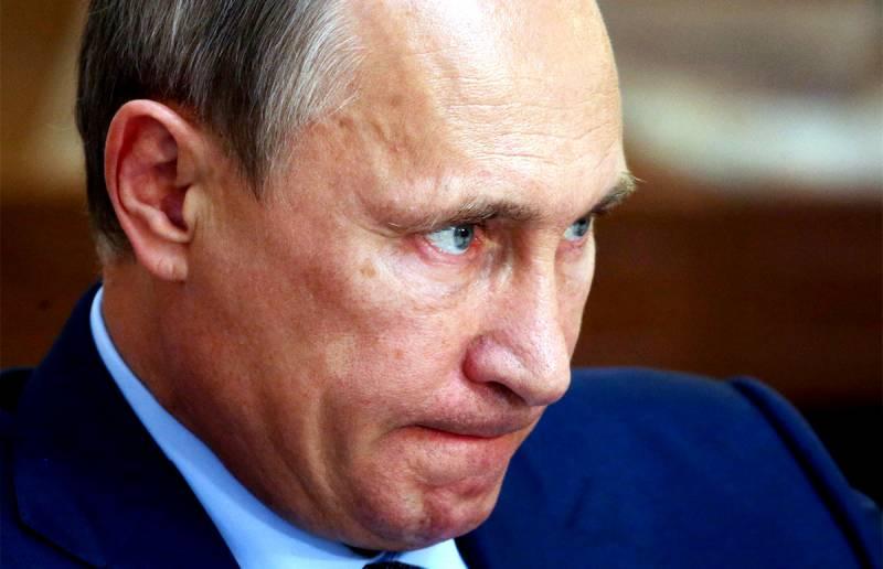 Несгибаемый Путин гнёт свою линию