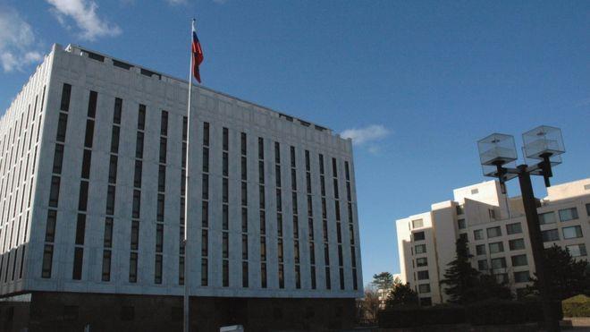 Площадь перед посольством Ро…