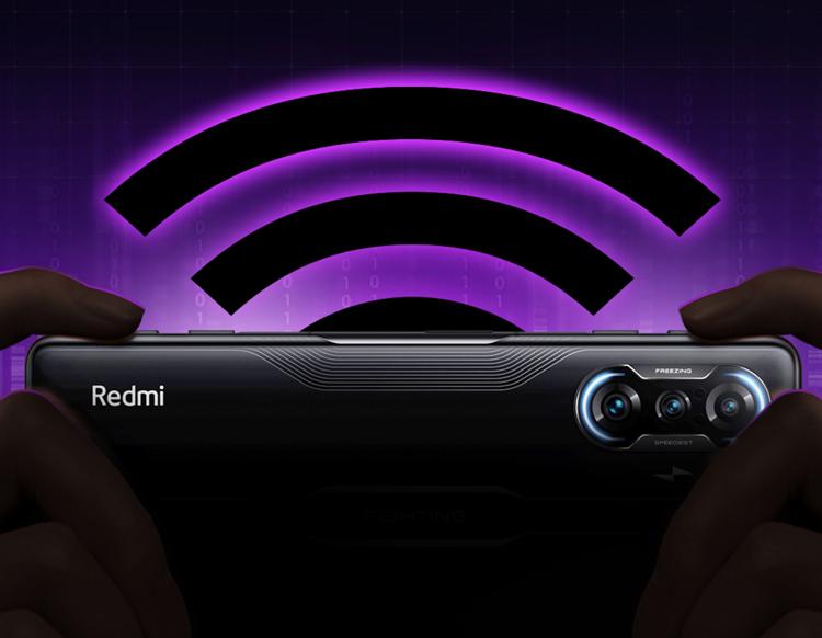 Смартфон Redmi K40 Gaming оснащён особой системой из 12 антенн для стабильной связи