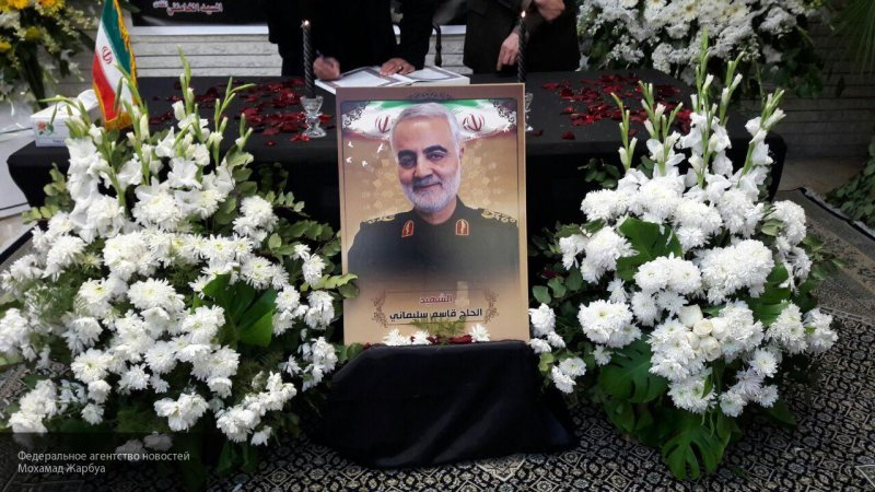 Представитель КСИР заявил, что ценой за кровь Сулеймани может стать вывод США из региона