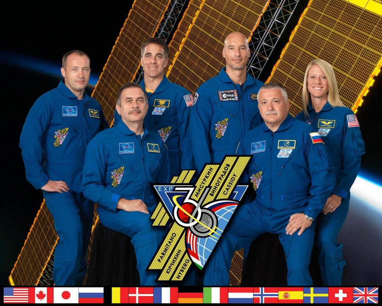 11 сентября члены экипажа МКС-36 вернутся на Землю