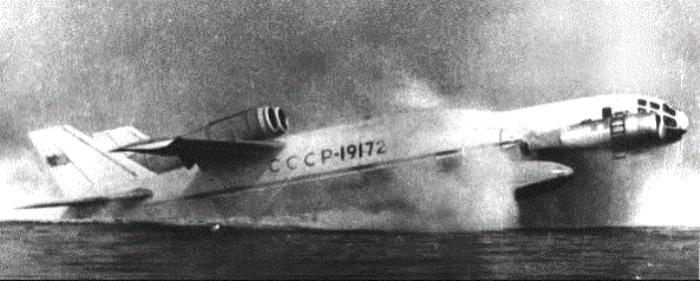 Уникальный самолет СССР - амфибия ВВА-14