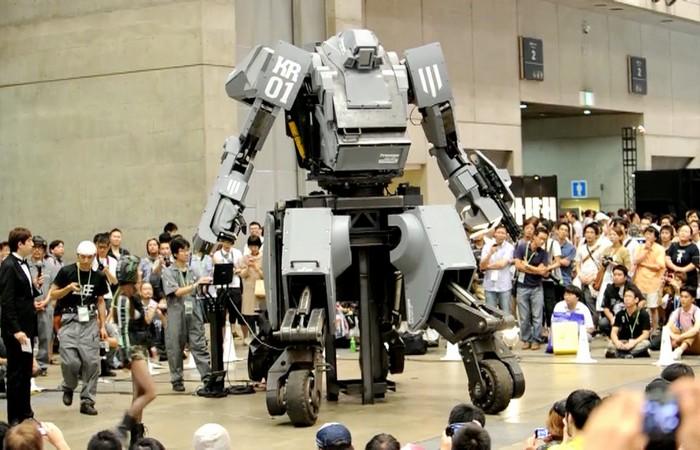 Безумно дорогая игрушка: робот «Kuratas».