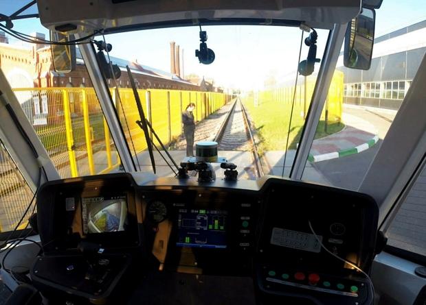 В Москве испытают беспилотный трамвай