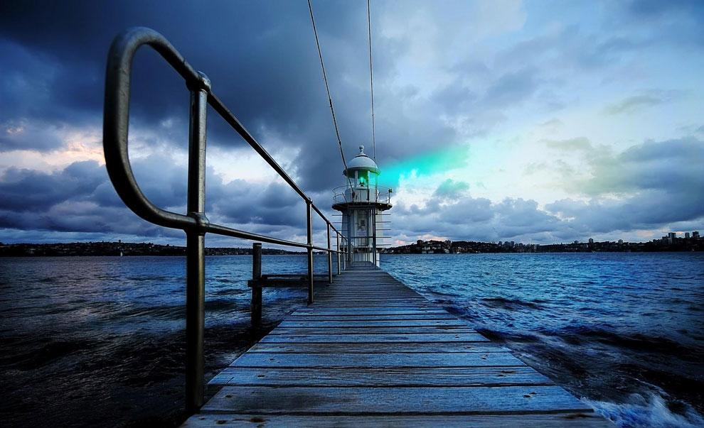 Маяки — путеводные огни для кораблей