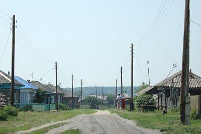Село Окунево