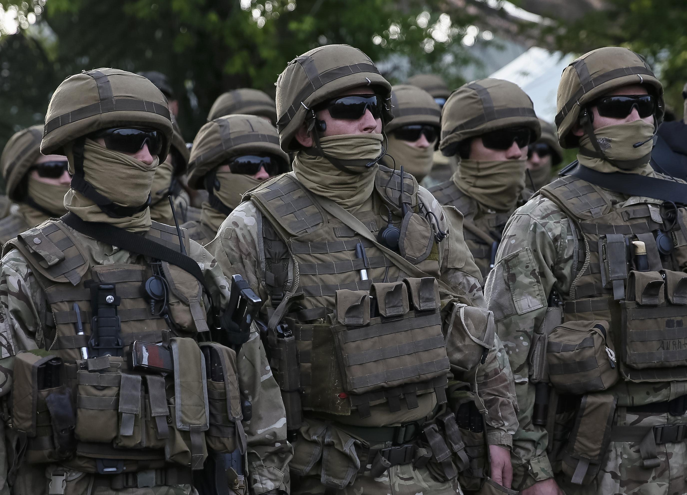 Спецназ Украины подняли по тревоге, чтобы доставить носки генералу