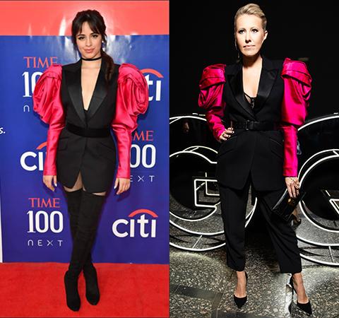 Модная битва: Камила Кабелло против Ксении Собчак