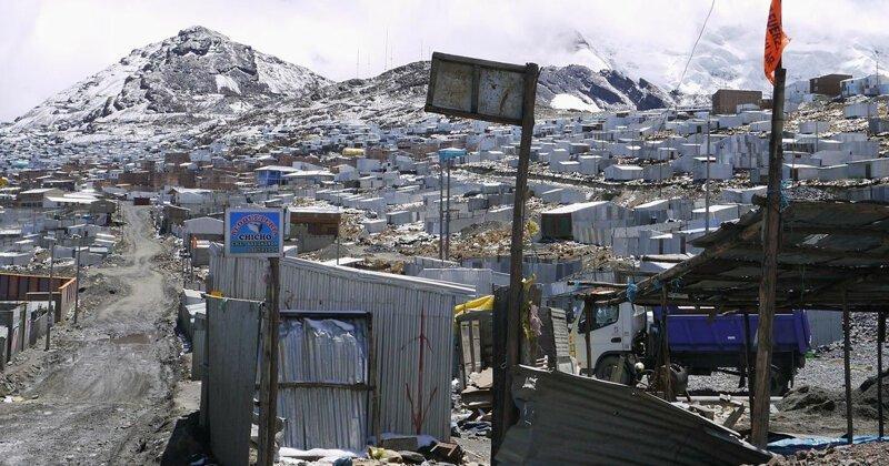 Ла-Ринконада — самый высокогорный город планеты, где очень много золота