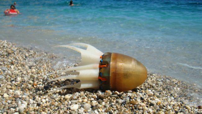 Робот, который умеет двигаться, как настоящий осьминог