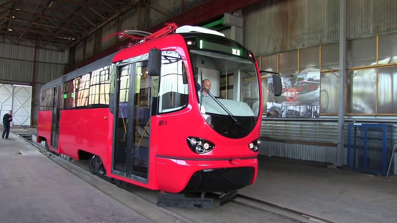 В Донецке презентовали трамв…