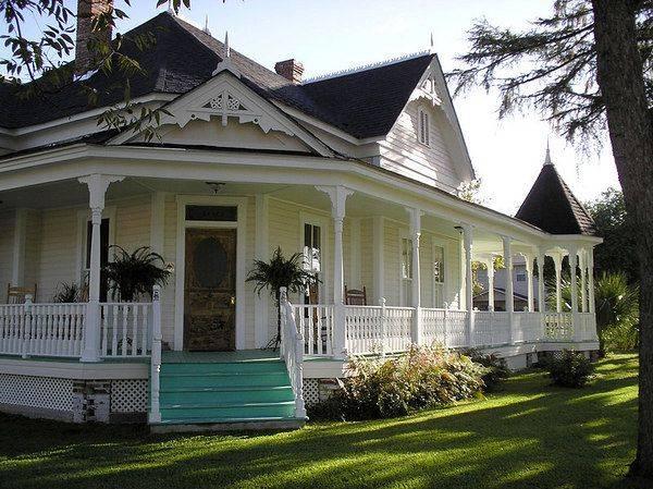 красивые одноэтажные дома с террасой фото, фото 72