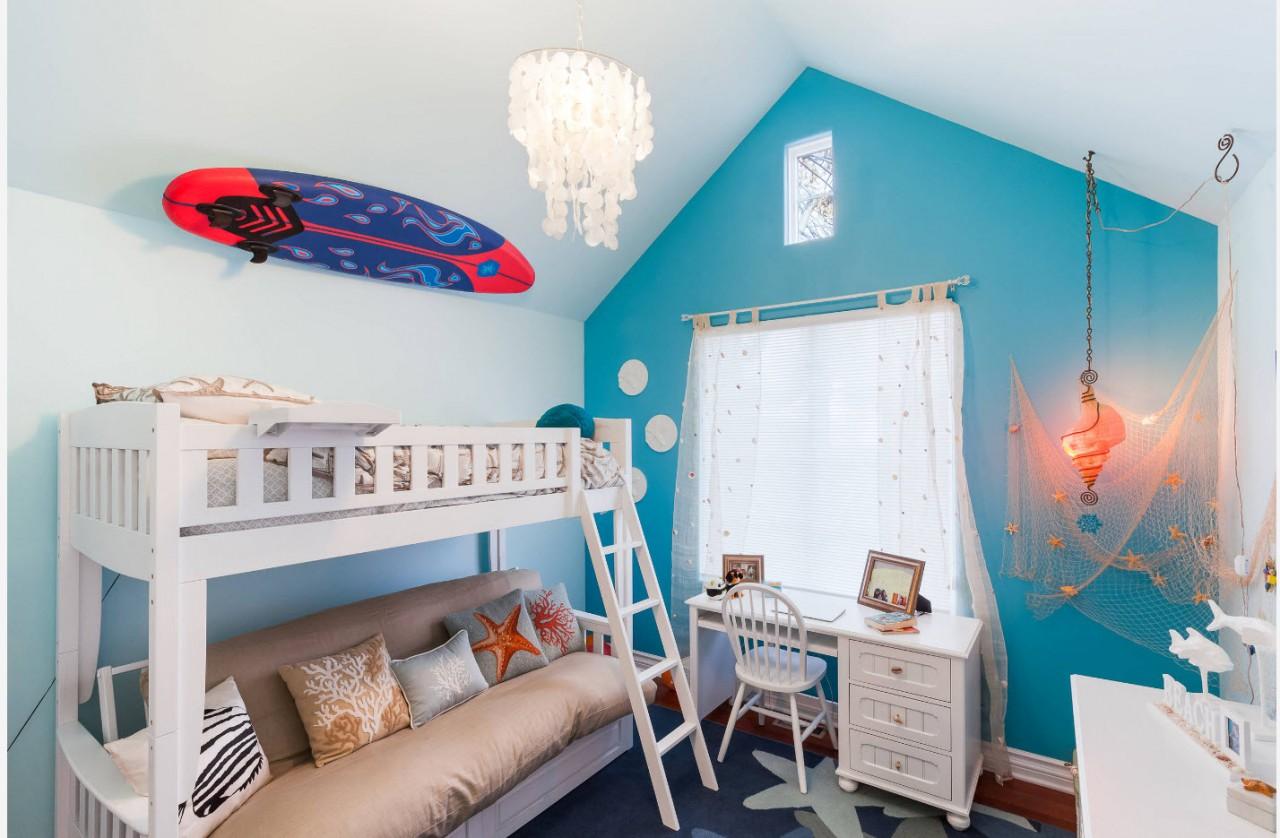 Потолок в детской комнате: идеи дизайна