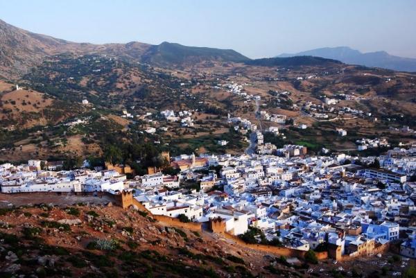 Шефшауен - голубой город в Марокко