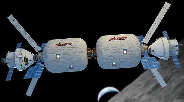 Через три года в космосе заработает первая гостиница