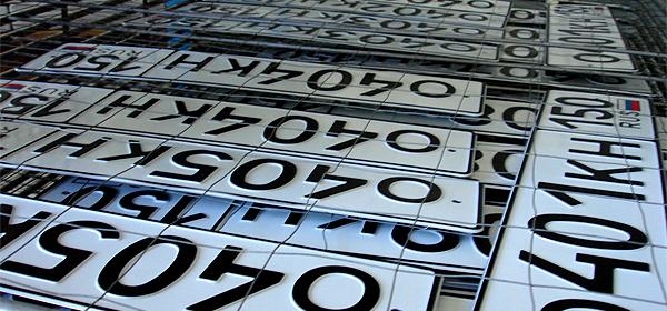 Автодилеры получат право выдавать номера