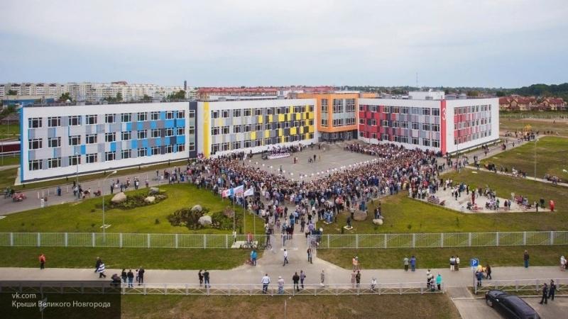 В Архангельске благоустраивают пришкольные территории