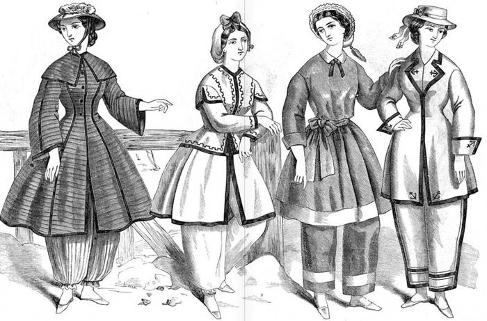 «Зад видно!»: Как и почему в XIX веке женщинам не позволяли носить брюки