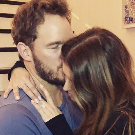 Крис Прэтт и Кэтрин Шварценеггер объявили о помолвке звездные пары