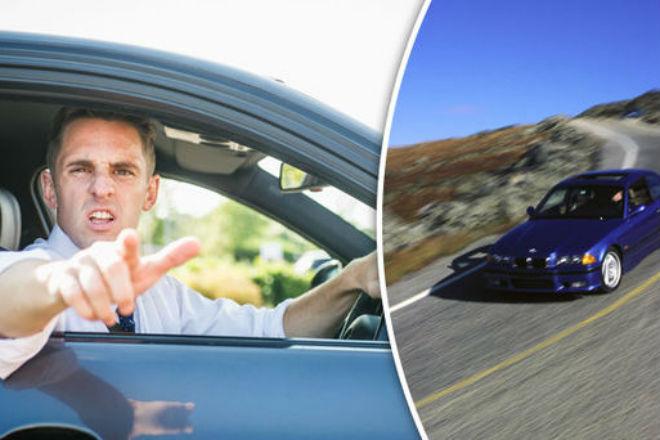 Водителей на BMW назвали самыми нахальными на дороге