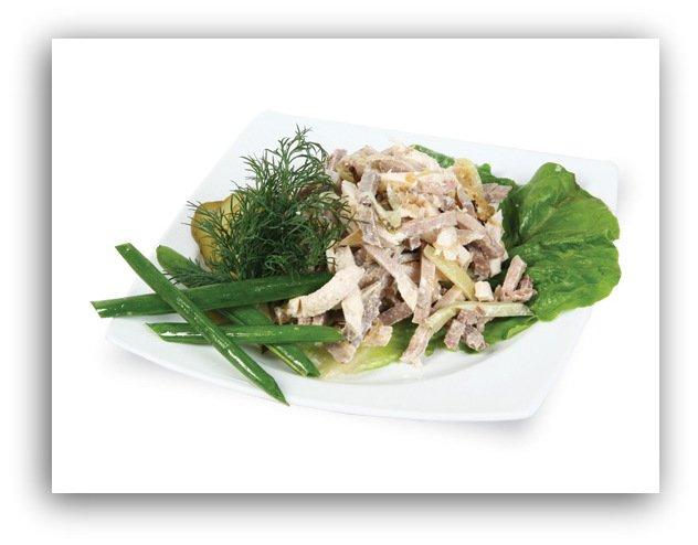"""Салатная заправка от шеф-повара Д. Мироненко + """"Европейский"""" салат с ее участием."""