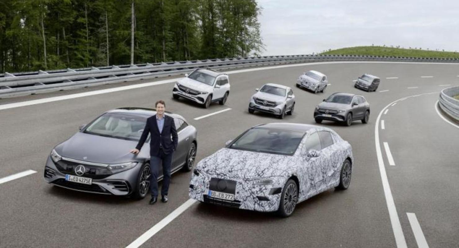 К 2025 году каждый автомобиль Mercedes будет иметь полностью электрический аналог Автомобили