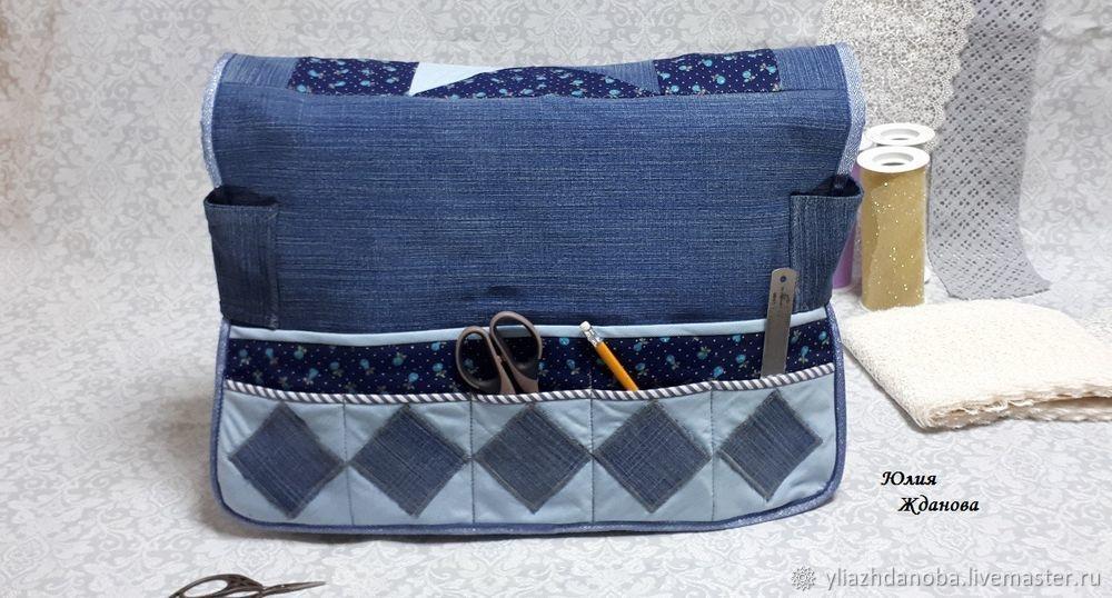 Шьем чехол-коврик на швейную машину мастер-класс,шитье