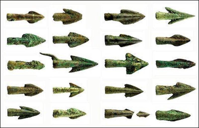 Бронзовые наконечники стрел история, мумии, наука, скелеты